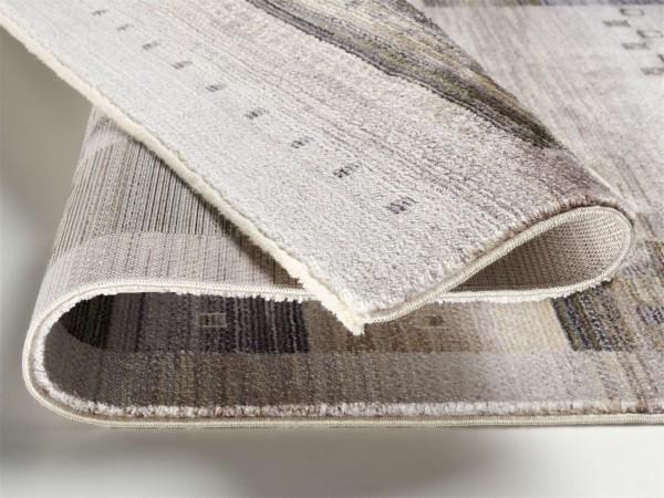 Ovation Lorin moderner Webteppich Bordüren Teppich