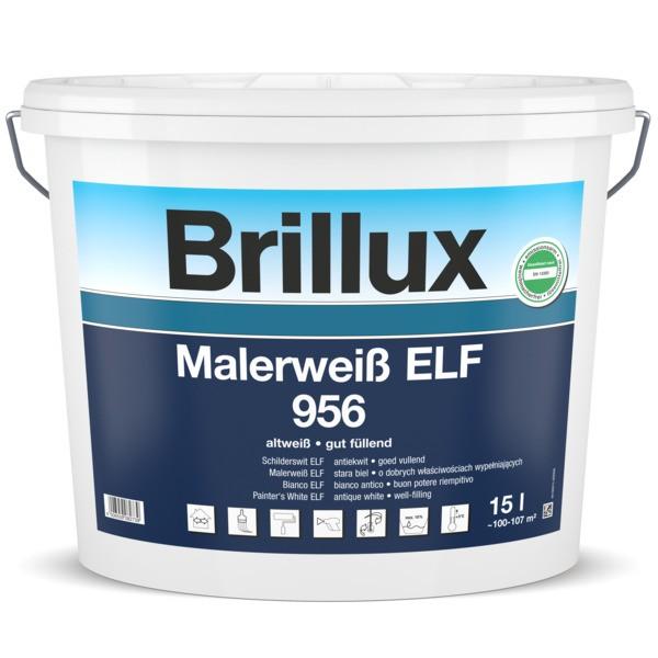 Brillux Innendispersion Malerweiss Extra ELF 956 Altweiss