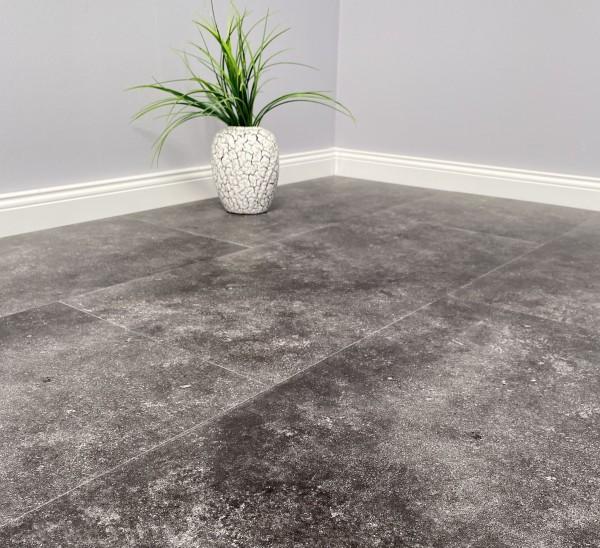 Klick Vinyl Granit mit Trittschalldämmung