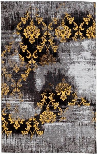 Diana Melody Fb. 626 grau-gelb Vintage Teppich modern mit Ornamenten