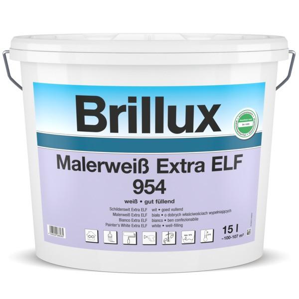 Brillux Innendispersion Malerweiss Extra ELF 954