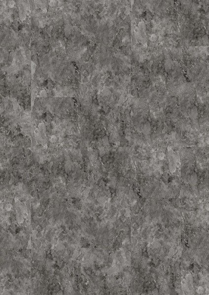 Klebe Vinylboden Metallic Slate 2847 in stylischer metallisch grauer Steinoptik für ein modernes Ambiente