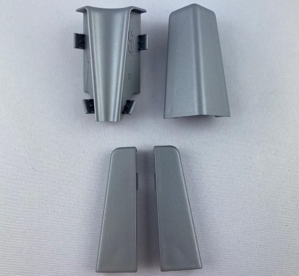 Innenecke Außenecke Endkappe silber 58mm