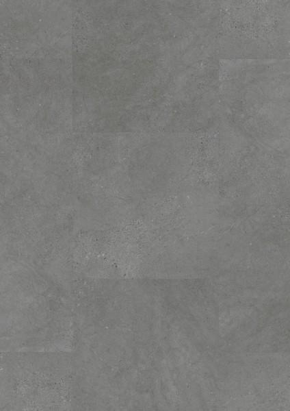 Designboden 330 Dark Concrete 2845 für ein trendiges Raumambiente in stylischem Betongrau